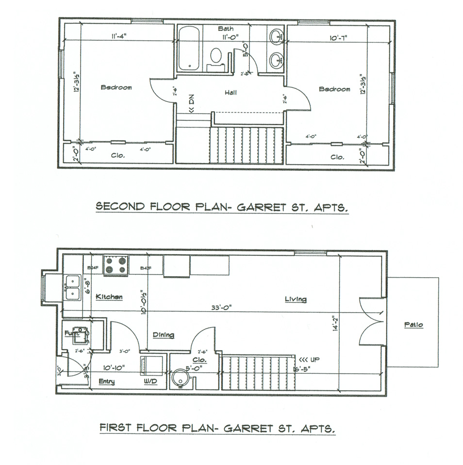 garret-street-floor-plans